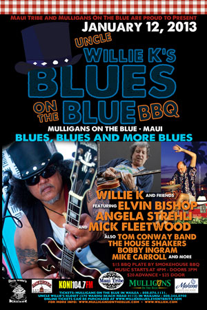 Uncle Willie K's Blues on the Blue BBQ