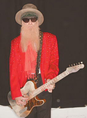 Billy Gibbons at Willie K's Blues Fest